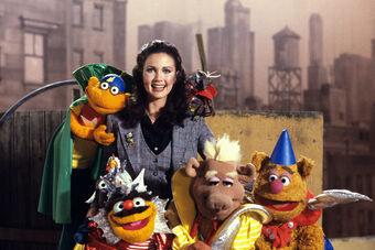 Lynda Carter Muppets