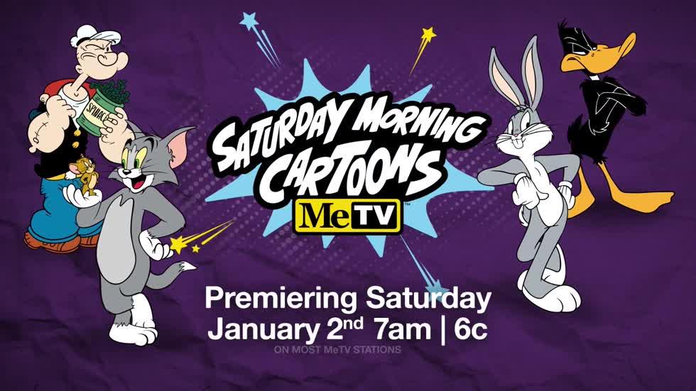 MeTV Saturday Morning Cartoons