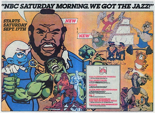 Saturday Morning Cartoons NBC