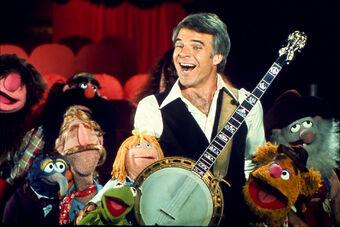 Steve Martin Muppets