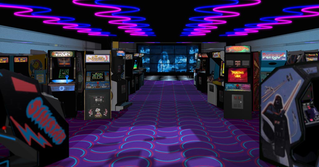 A Techno Arcade