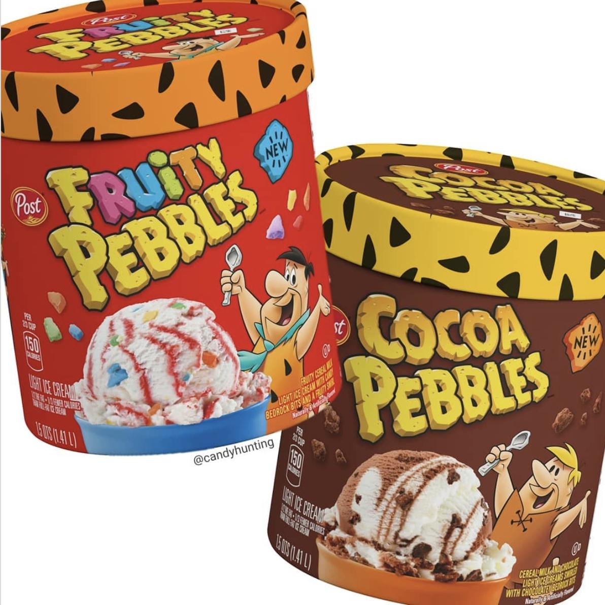 Pebbles Ice Cream