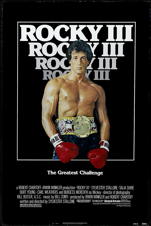 Rocky III Poster