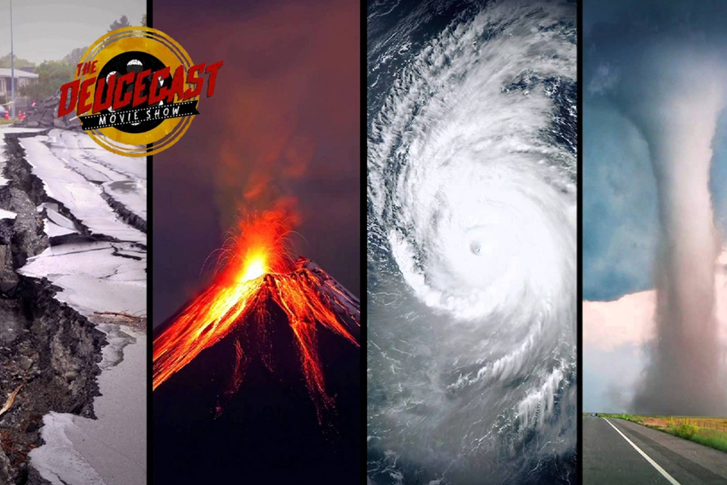 The Deucecast Movie Show #472: Natural Disaster Movies