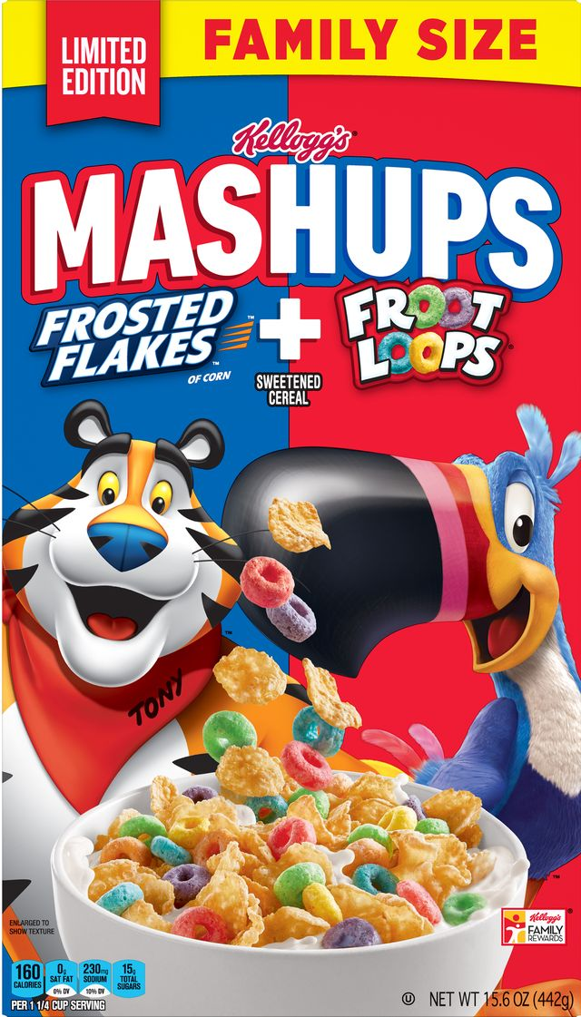 Frosted Flakes Froot Loops
