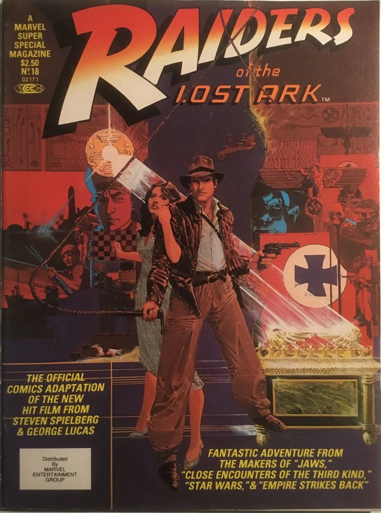 Raiders of the Lost Ark Marvel Super Special