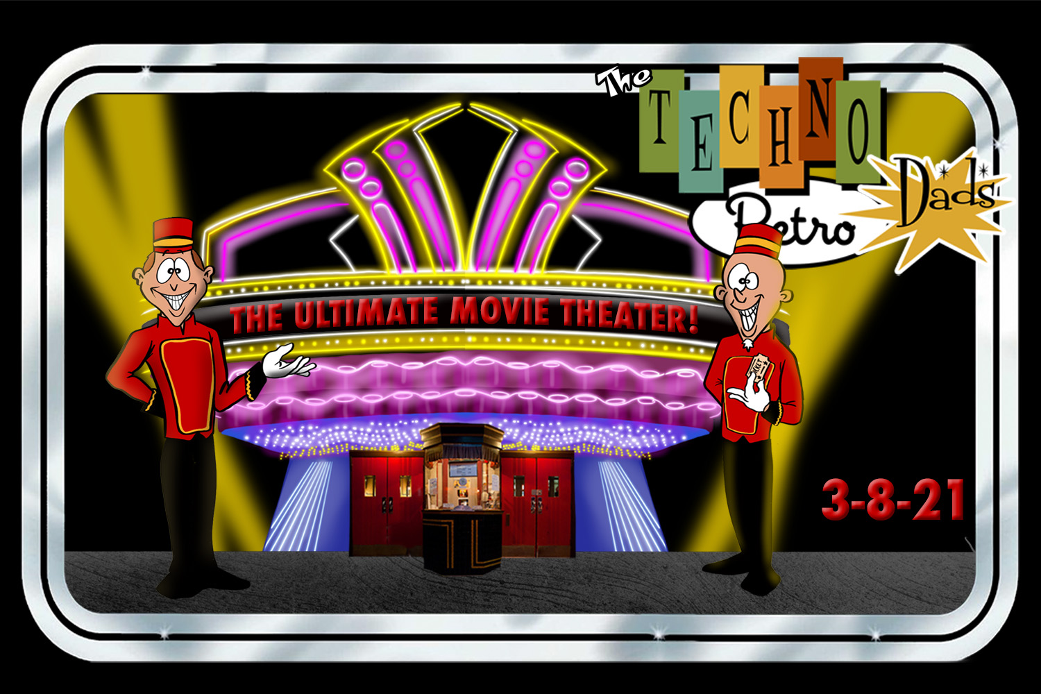 TechnoRetro Dads: Let's All Go to the Movies!