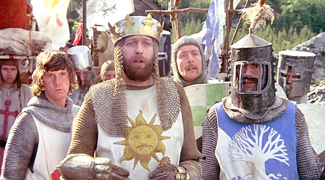 Monty Python and the Holy Grail Knights