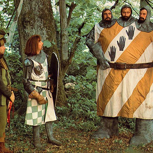 Monty Python and the Holy Grail Ni
