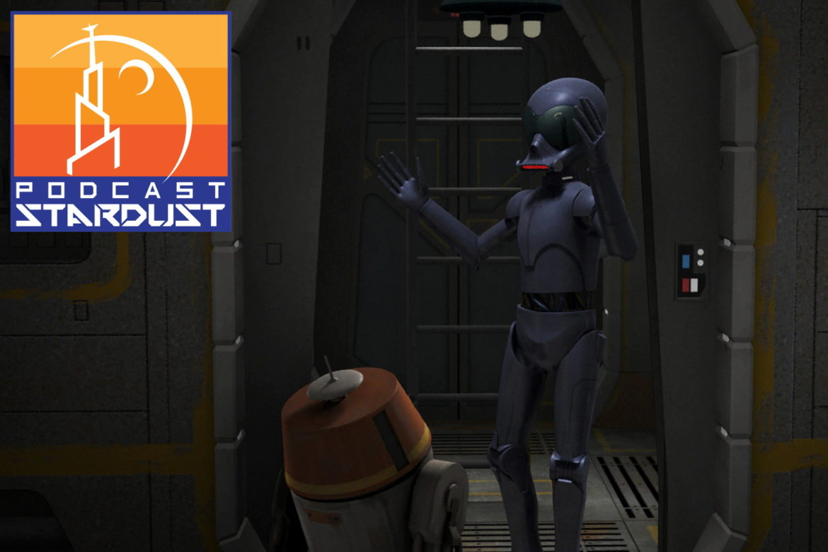 Podcast Stardust - Episode 255 - Rebels - The Forgotten Droid - 0219