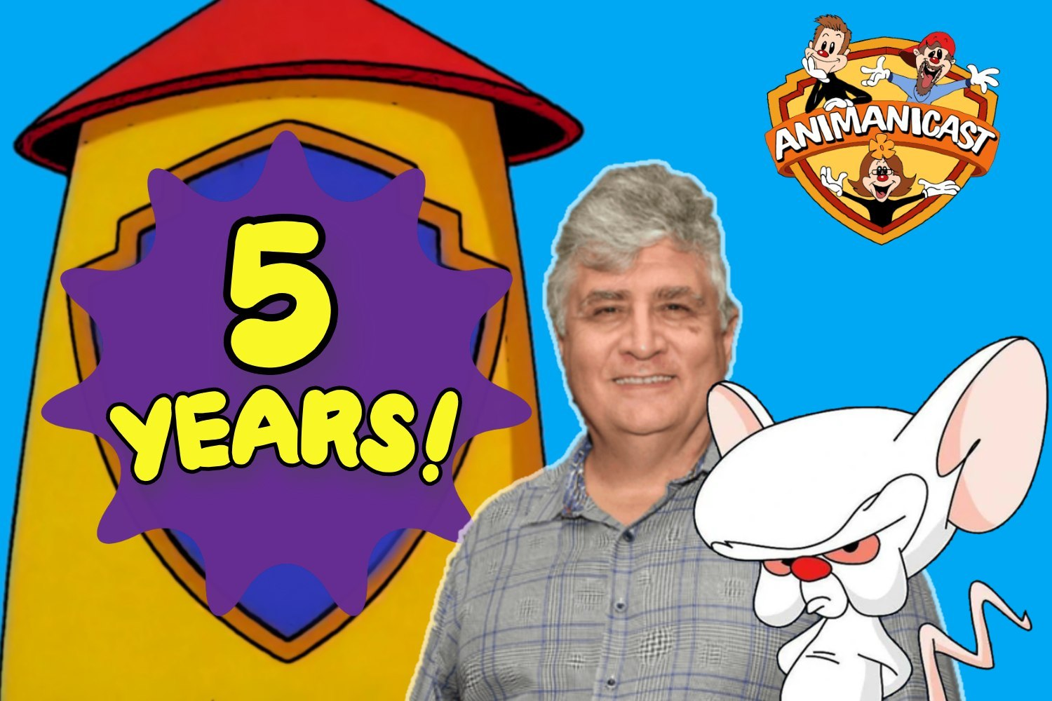 Animanicast 217- Our 5th Anniversary with Maurice LaMarche and Tom Ruegger
