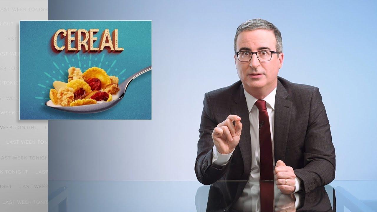 John Oliver Cereal