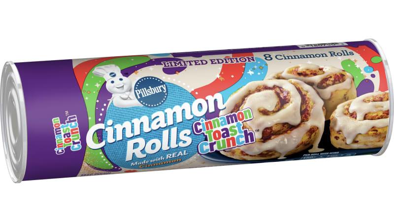 Pillsbury Cinnamon Toast Crunch Rolls