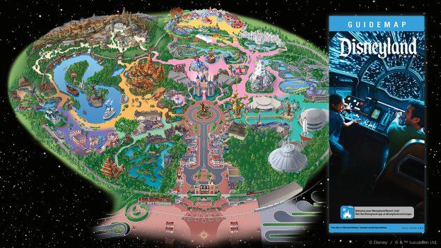 Disneyland Map today
