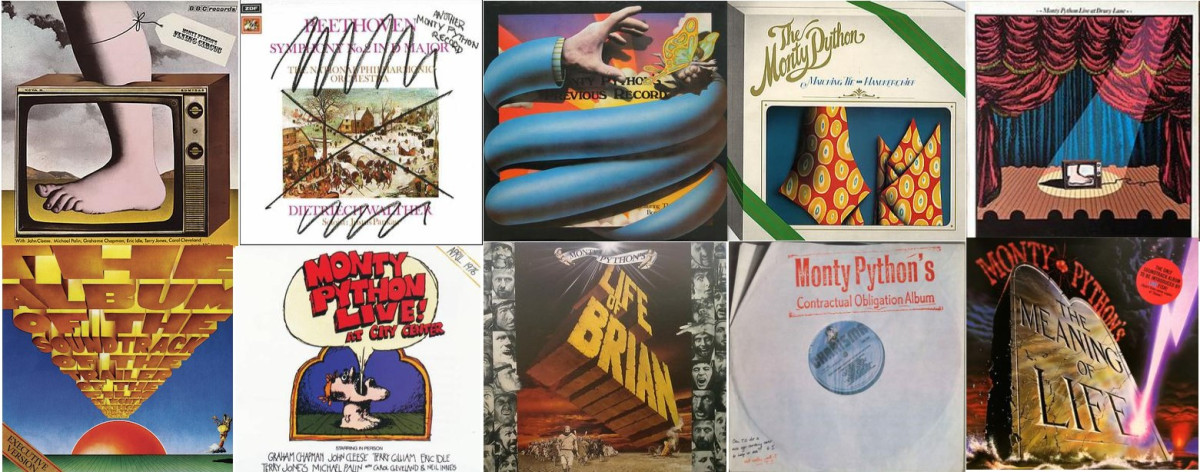 Monty Python Albums