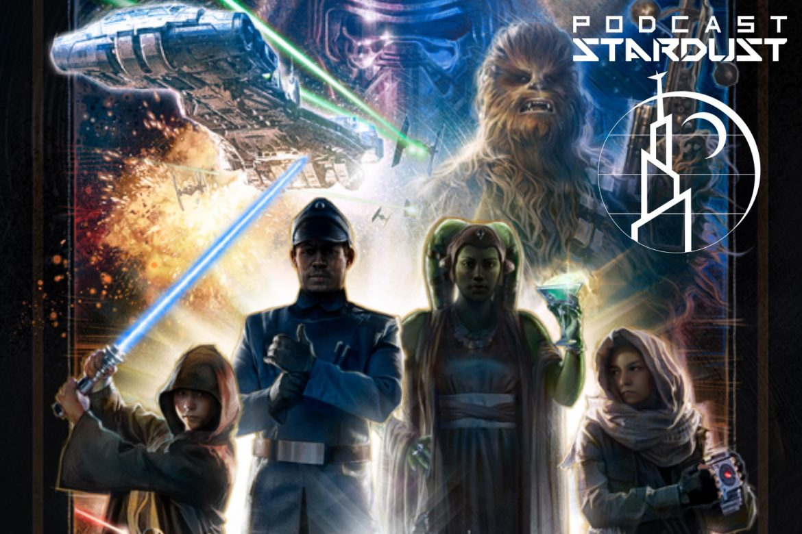 Podcast Stardust - Episode 287 - The Galactic Starcruiser and the Haslab Rancor - Star Wars