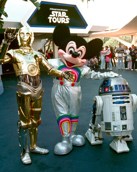Star Tours in the 80s