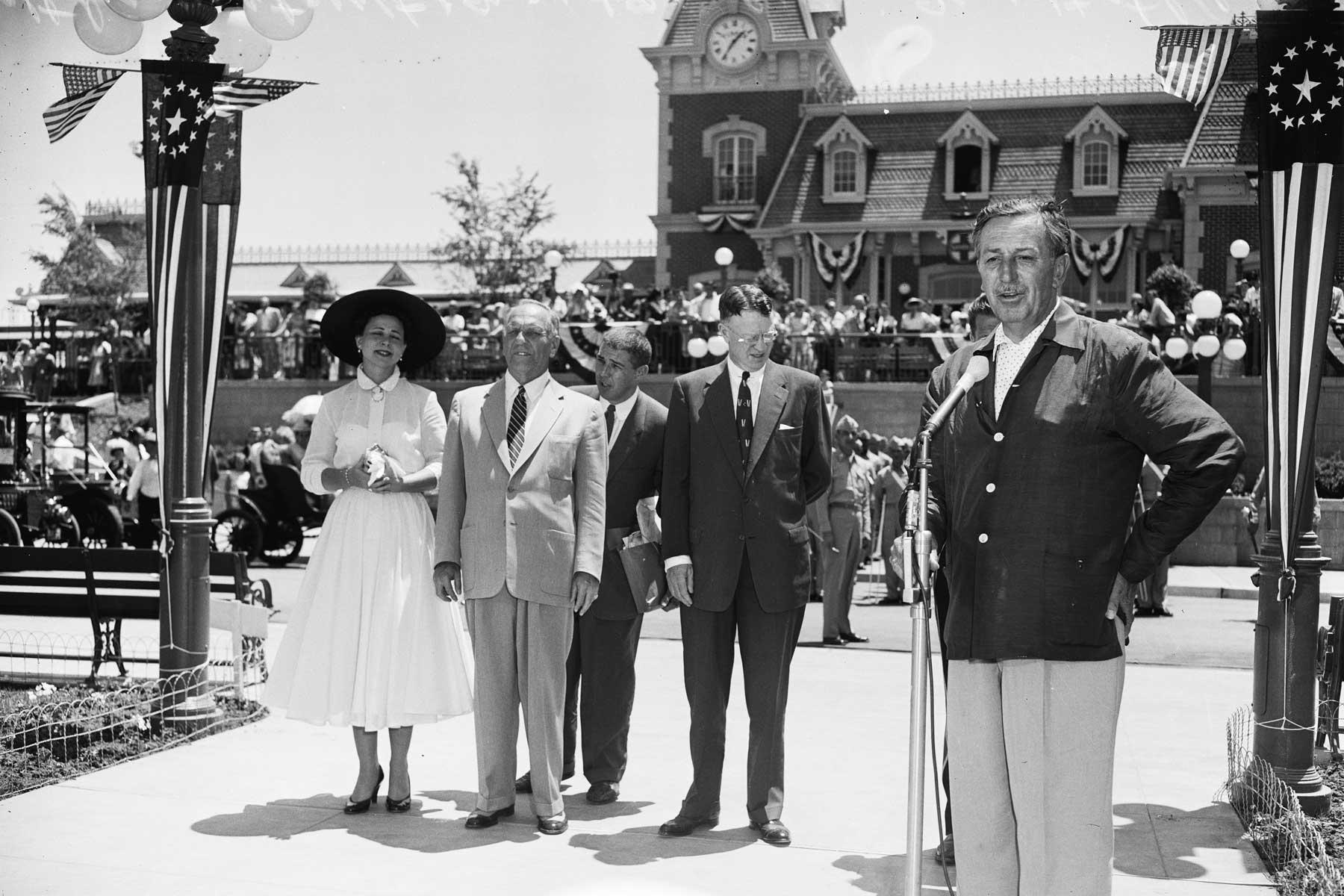 Walt Speaks on Opening Day