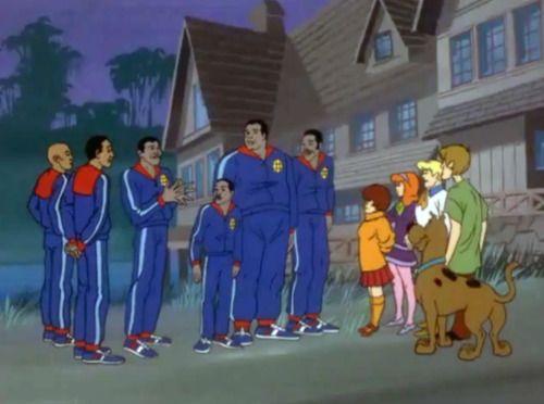 Scooby Doo Harlem Globetrotters